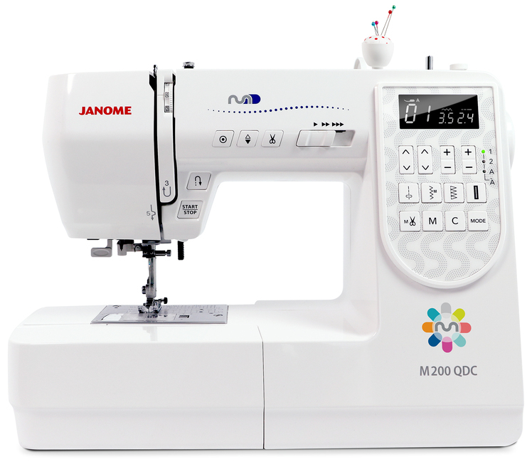 Janome M200 QDC - Janome Maker - K-W Sewing Machines