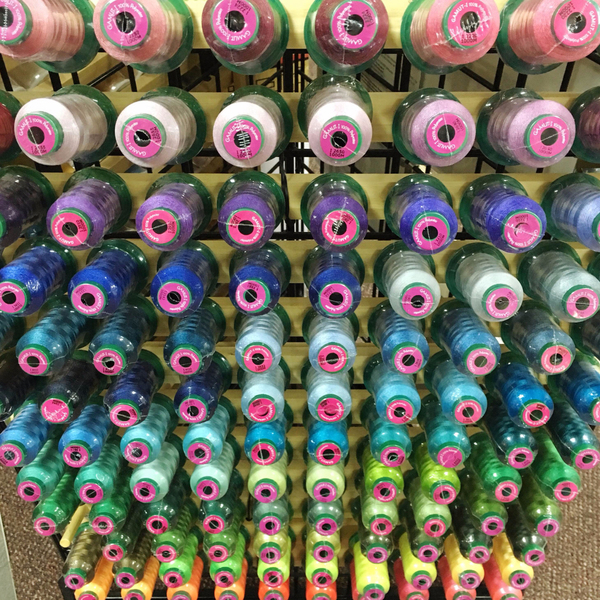 Gamut Embroidery Thread at K-W Sewing Machines