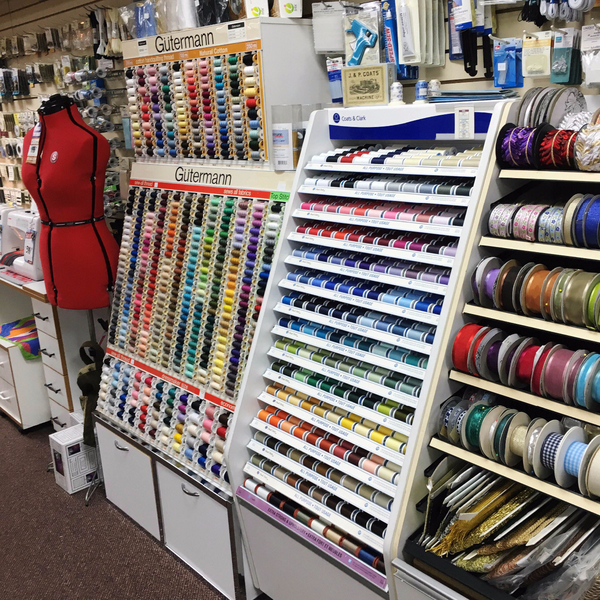 Sewing Supplies at K-W Sewing Machines